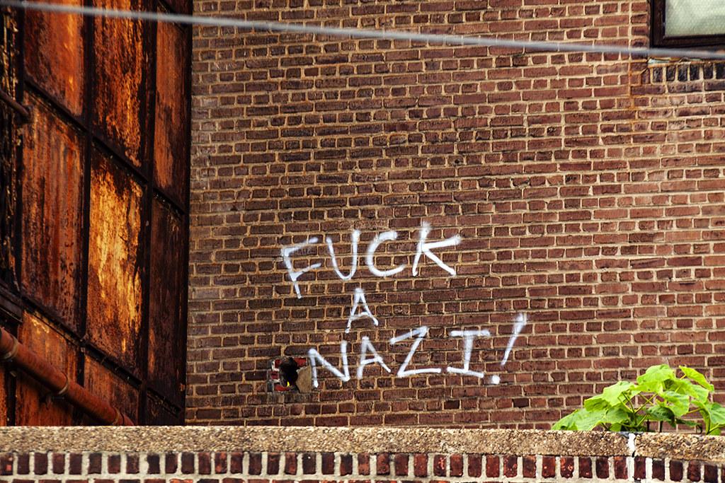 FUCK A NAZI--Spring Garden