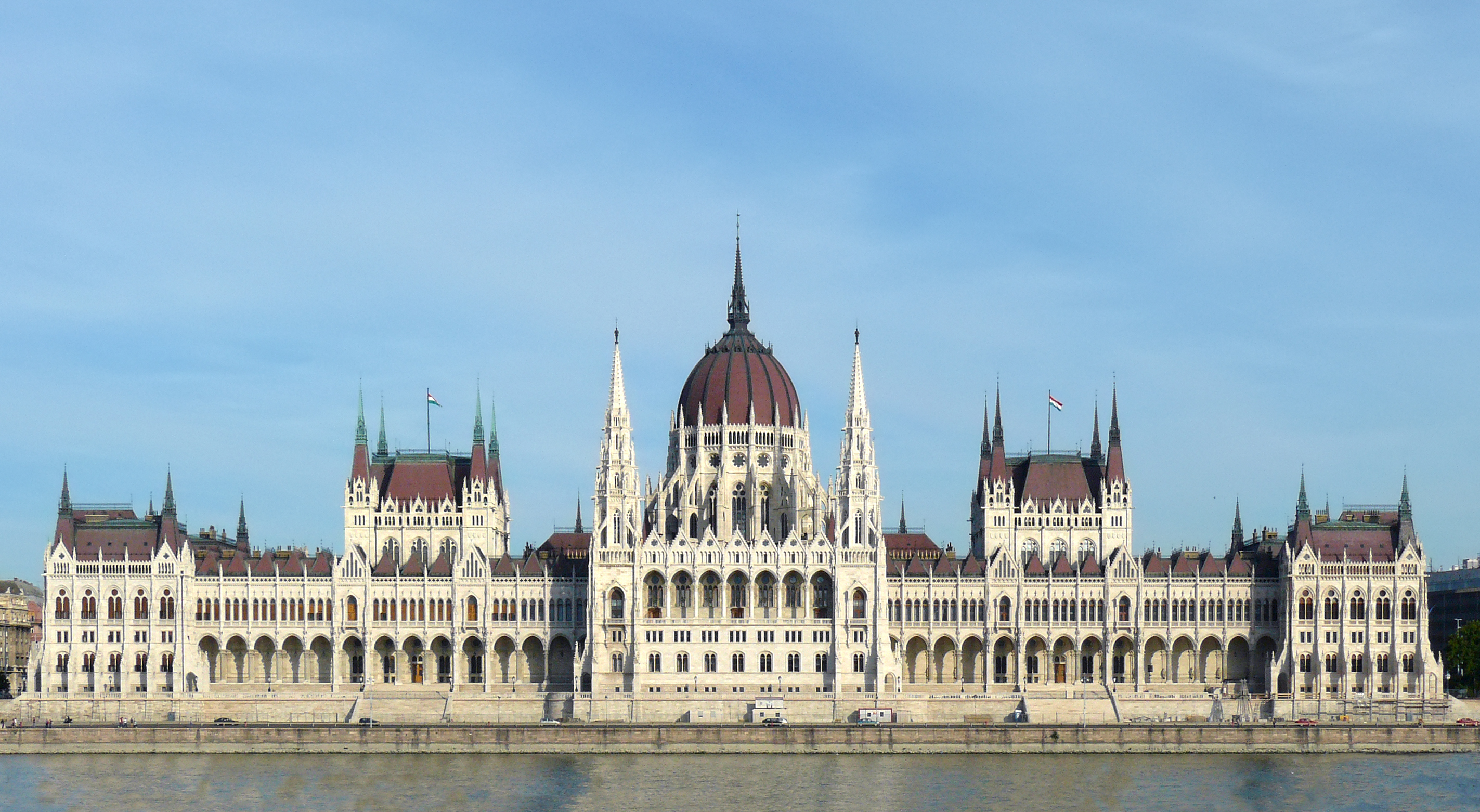 Hungarian Parliament Building, Budapest. Photo taken on September 20, 2009.