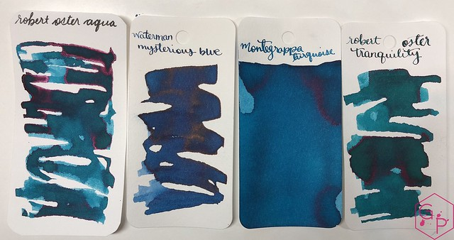 Robert Oster Aqua Ink Review @PhidonPens 4