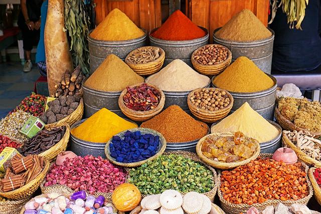 Marrakech Souk Colours