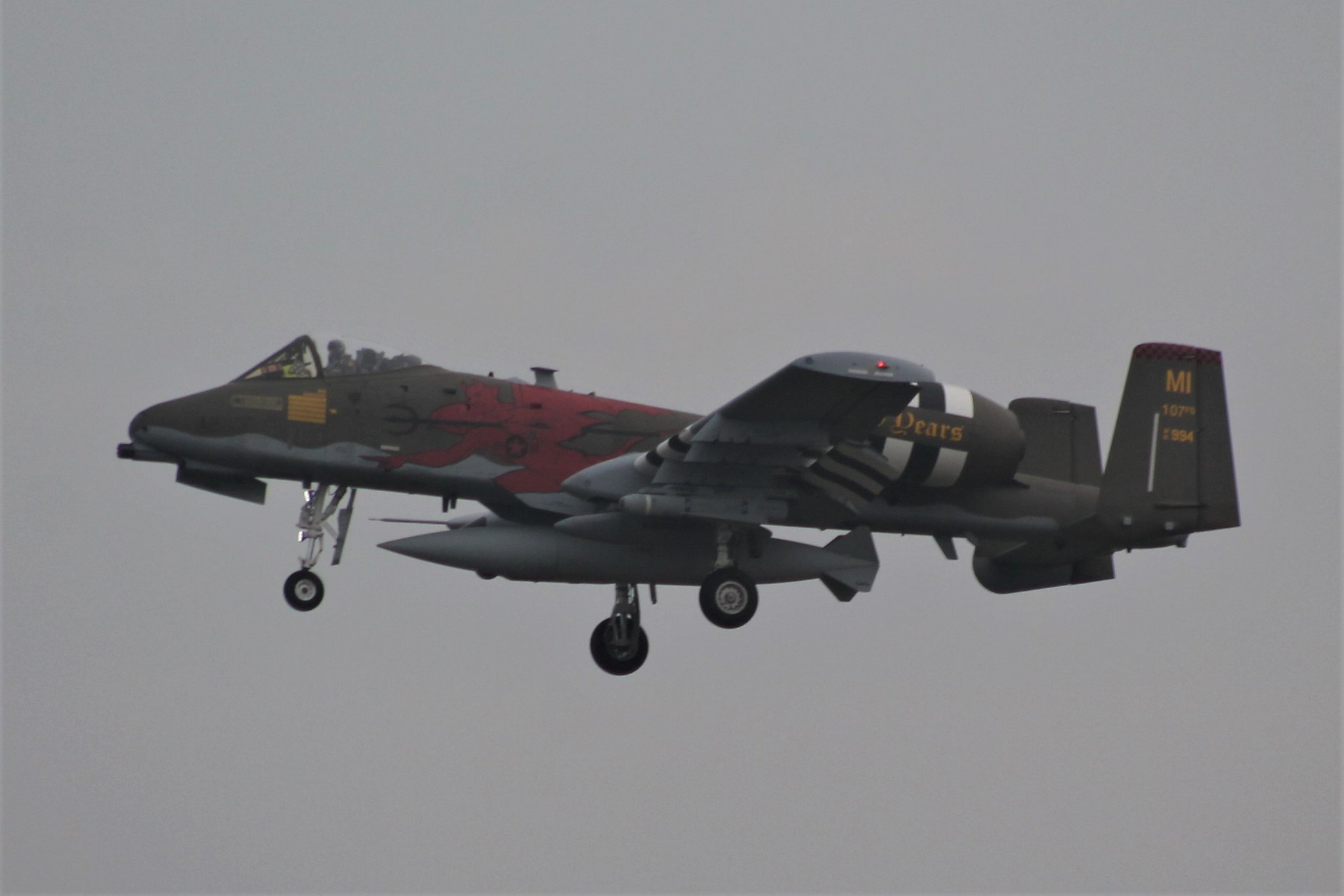 107th FS Red Devils, MI-ANG 100 Years - PPRuNe Forums
