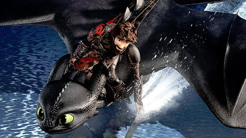 Poster How to Train Your Dragon: The Hidden World.