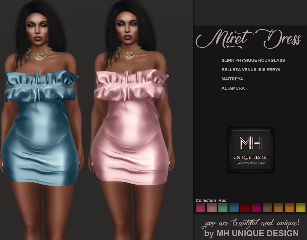 MH-Miret Dress Collection - TeleportHub.com Live!