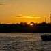 Sunset over Cransley Reservoir