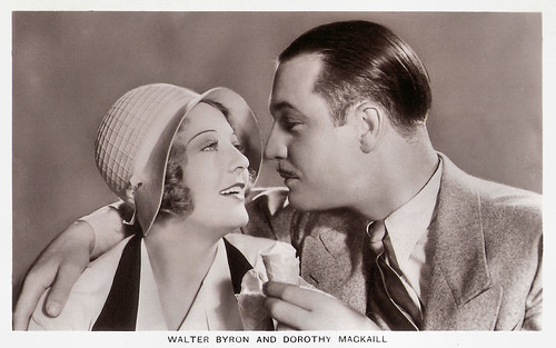 Walter Byron and Dorothy MacKaill in The Reckless Hour (1931)