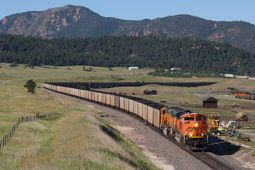bnsf bnsf9177 emd sd70ace palmerlake colorado jointline rampartrange train railroad