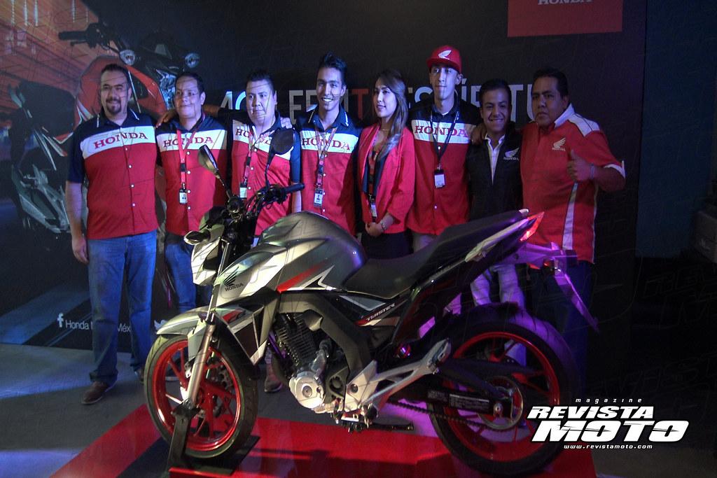Presentación Honda CB250 Twister