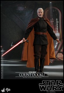 The Elegance of the Sith! Hot Toys – MMS496 – Star Wars Episode II: Attack of the Clones – 1/6th Scale Count Dooku Collectible Figure