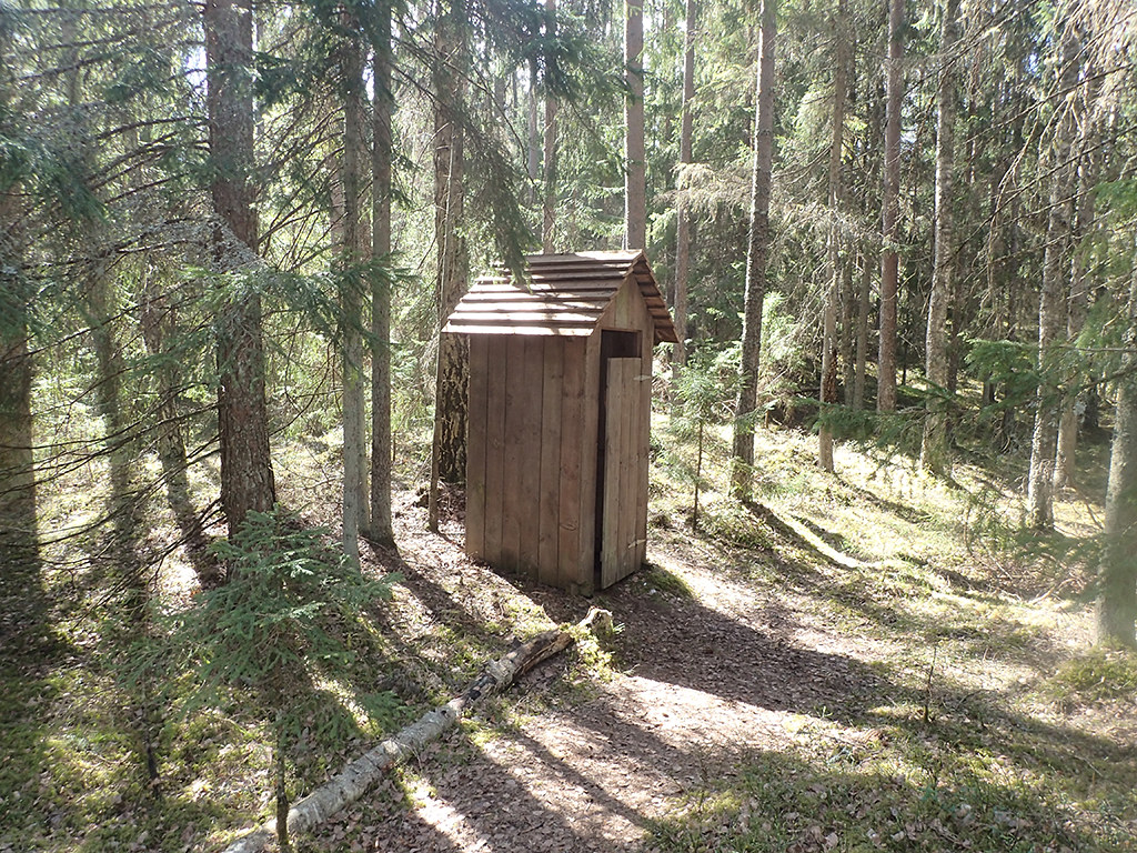Loo in the woods!