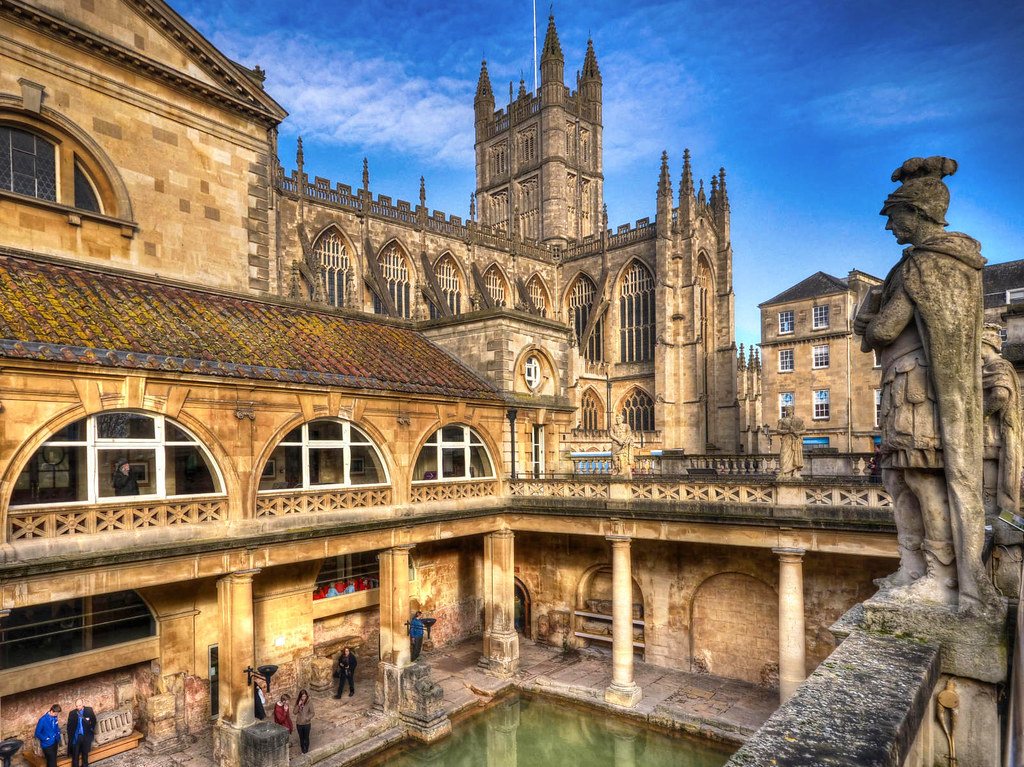 The Roman Baths, Bath, Somerset. Credit Baz Richardson, flickr
