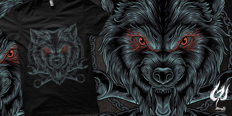wolf chains