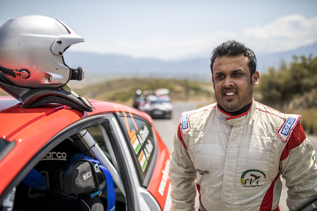 GHOSH Amittrajit (ind), NAIK Ashwin (ind),  Ford fiesta R2, portrait during the European Rally Championship 2018 - Acropolis Rally Of Grece, June 1 to 3 at Lamia - Photo Gregory Lenormand / DPPI