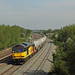 Colas Rail Freight 60095 met trein 629F