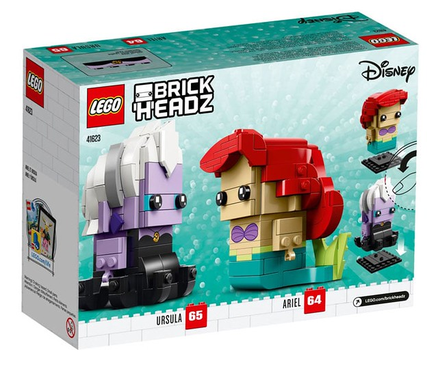 LEGO 41623 BrickHeadz Ariel & Ursula 2