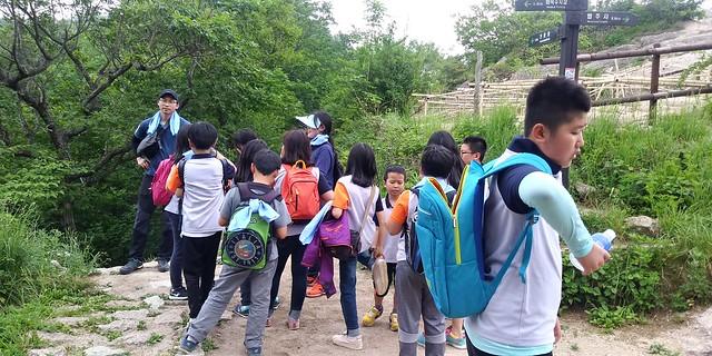 마음은 상큼, 몸은 가뿐 | 화북초등학교 문장대 가족산행