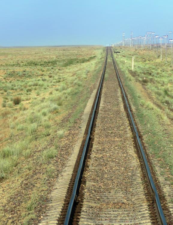 Железная дорога Жезказган - Бейнеу, или Как не разочароваться Байконуром