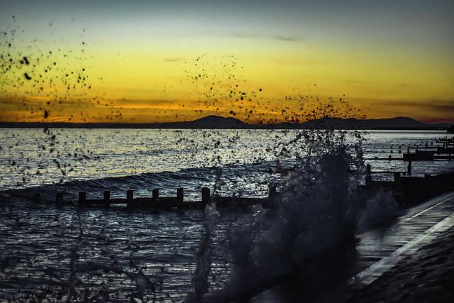 sunset 14th May 18.jpg, Nikon D7200, AF Nikkor 50mm f/1.8D