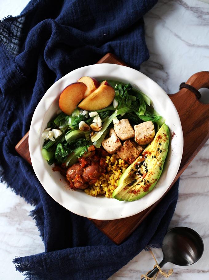 簡易素食羅漢齋 vegan-easy-buddha-bowl (6)