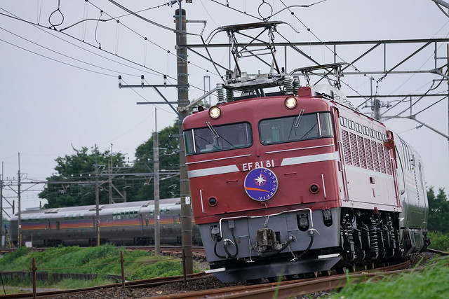 EF81-81牽引カシオペア紀行