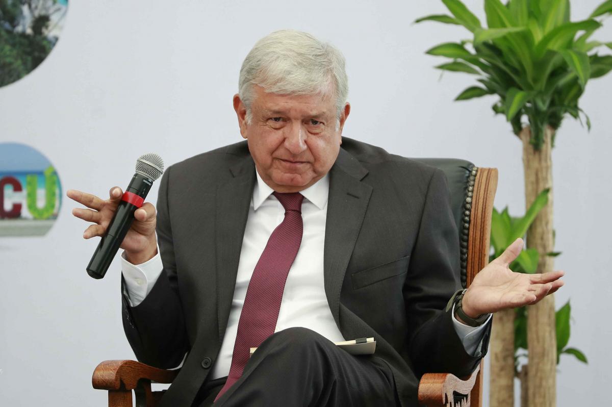 PÁG. 2 (2). El santón izquierdista Andrés Manuel López Obrador ya ha dado fuertes muestras de querer amnistiar y perdonar a quienes han saqueado y lesionado gravemente el patrimonio