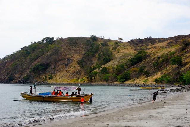 Talaga Beach Bataan Five Fingers