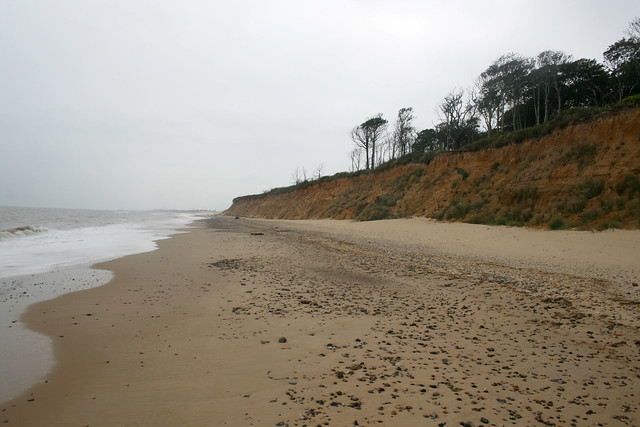 The coast north of Southwold
