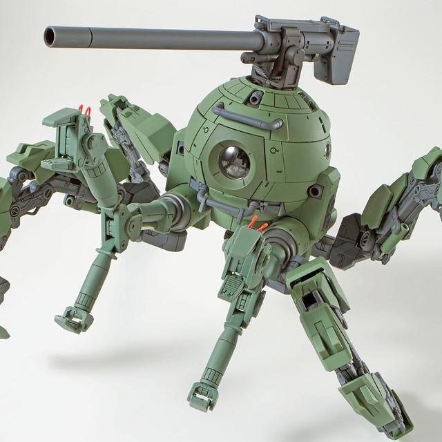 蜘蛛一般的陸戰規格!MG 1/100《鋼彈創鬥者潛網大戰GBWC》多足型鋼球(ポリポッドボール)【PB限定】