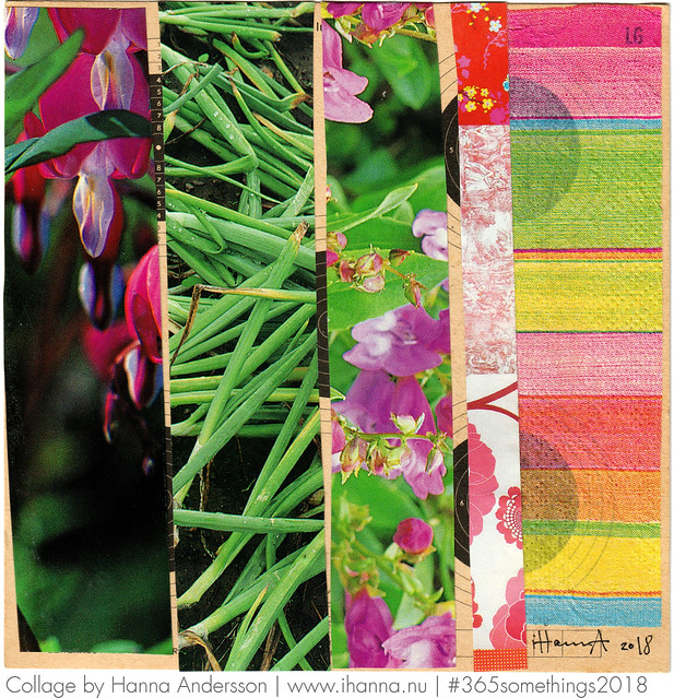 365 Collages | Week 14 | Patchwork Garden Collages