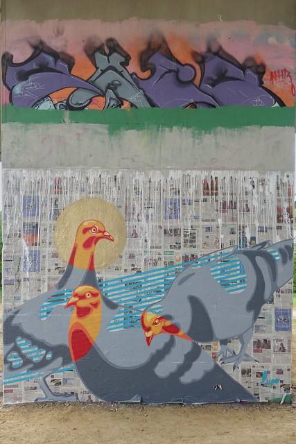 Lupo ... Graffiti/streetart at Neerpede (Belgium)