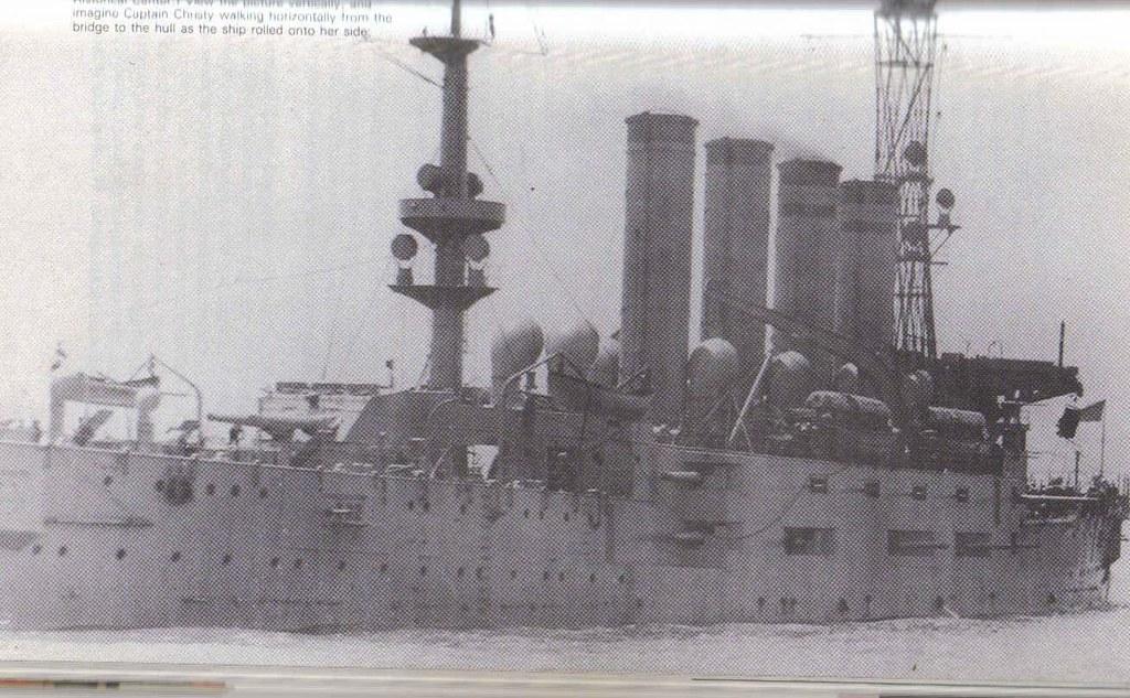 USS San Diego - sunk 1918