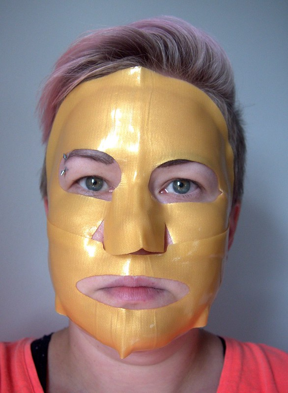 Naturel Hydro Gel Gold Mask
