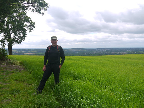 Mappiman on South Downs Way