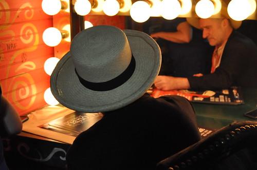 Jon Cleary backstage at Piano Night - April 30, 2018. Photo by Kichea S. Burt.