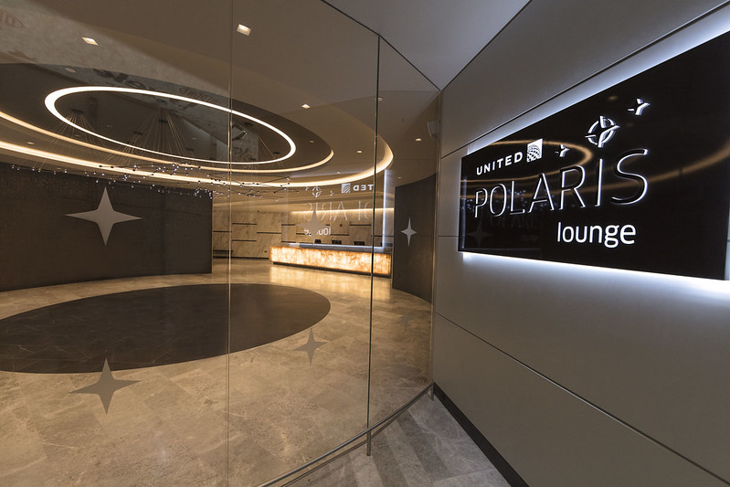 United Polaris Lounge Newark New York
