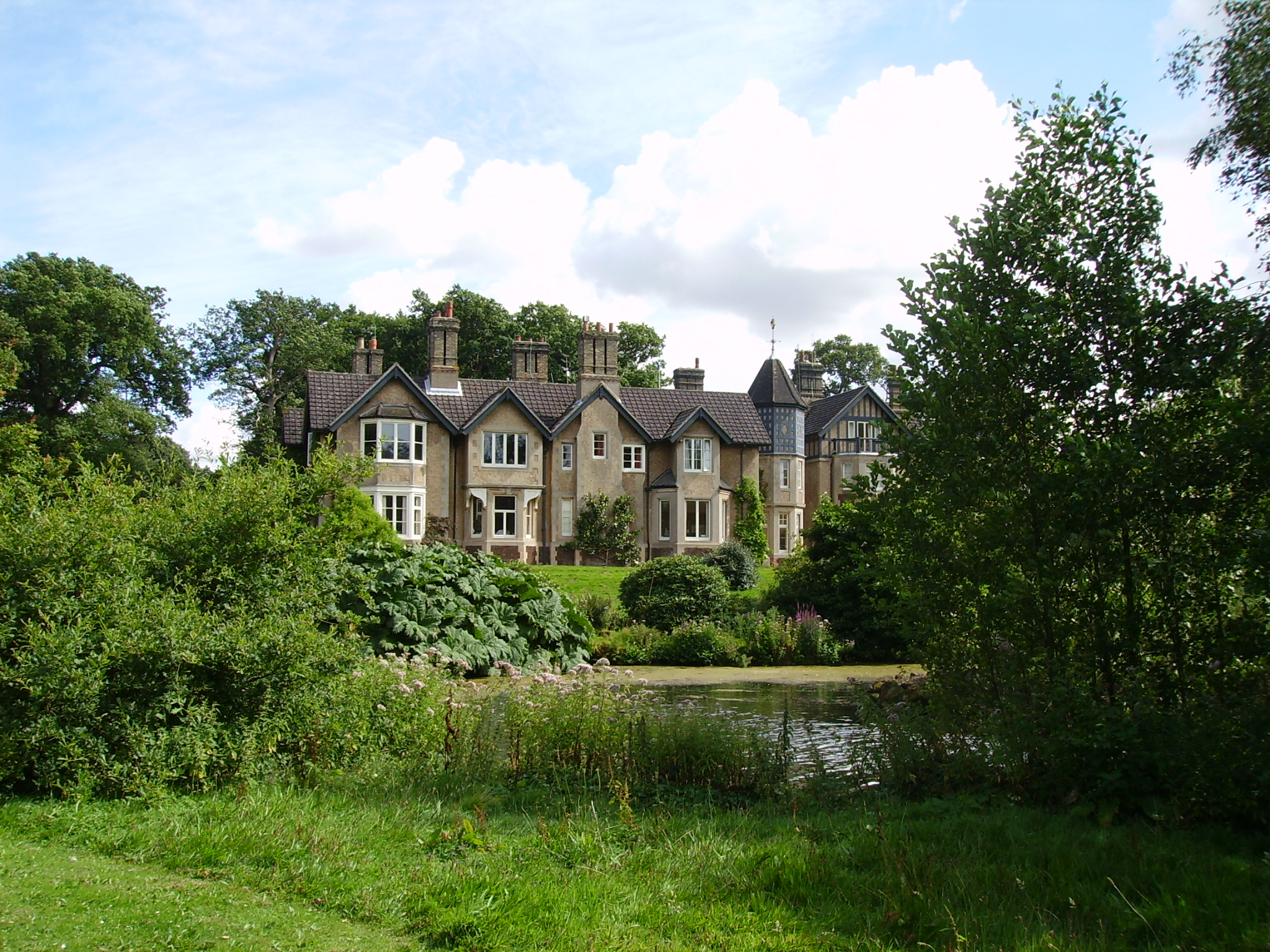 York Cottage at Sandringham House: King George V and his wife lived here from 1893 to 1926. Photo taken on August 15, 2007.