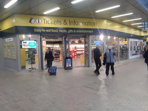 Merseyrail Liverpool transit ticket office