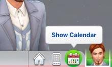 Calendário do The Sims 4 Estações