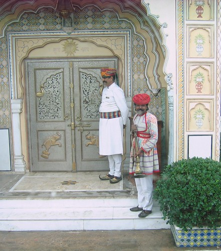 Royal Welcome at Raj Palace. From History Comes Alive: Eight Noteworthy Places to Stay