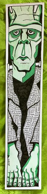 23 - Frankensteins Monster - Art Journal Tip In