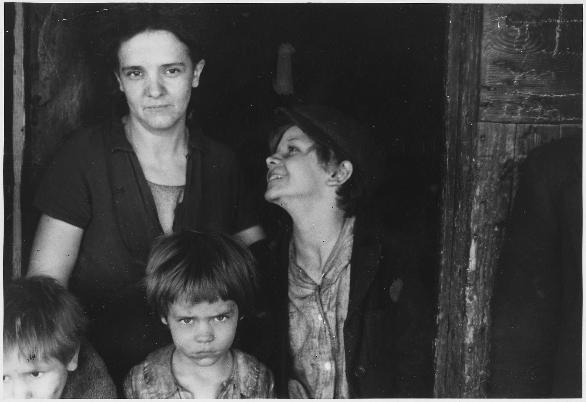 Farm Security Administration: Family of coal miner in West Virginia, circa 1935.