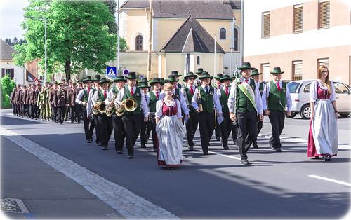 a parade, st. Stefan im Rosental
