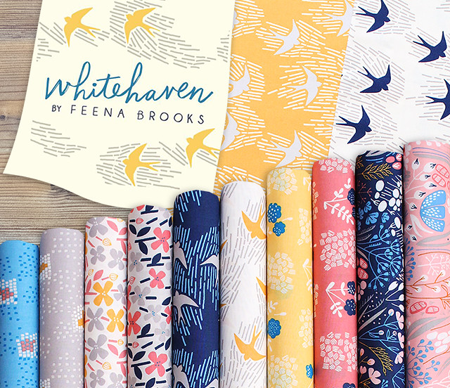 Cloud9 Fabrics Whitehaven Collection by Feena Brooks