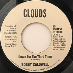 BOBBY CALDWAELL:CAN'T SAY GOODBYE(LABEL SIDE-B)