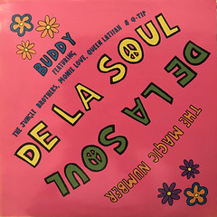 DE LA SOUL:BUDDY, MAGIC NUMBER(JACKET A)