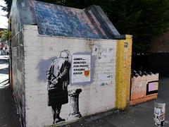 Street art in Manchester's Northern Quarter