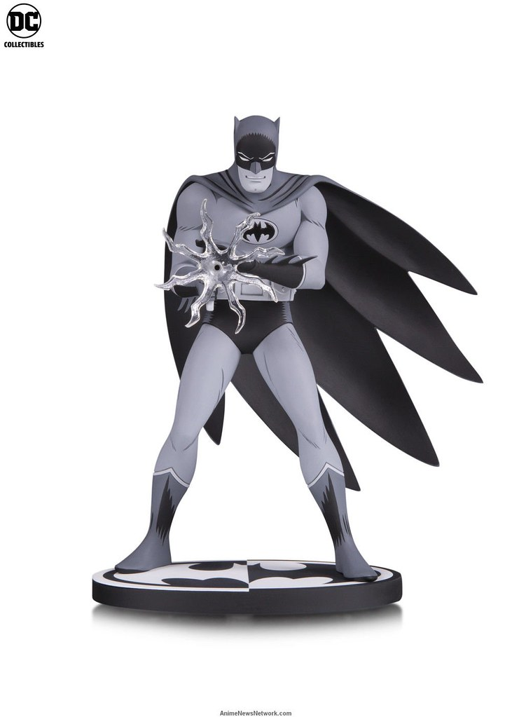 From the Legendary Bat-Manga: DC Collectibles Batman Black and White Statue (Jiro Kuwara)