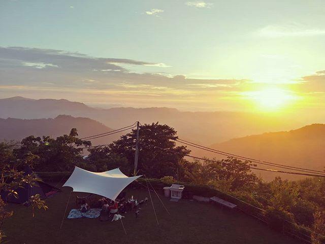 20180609 都吃完晚餐了 太陽才下山 #歐北露 #ilovecamping #campinglife #soulwhatplato #soulwhatoutfitteringwing #sunset