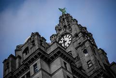Liver Buildings, Liverpool Pierhead