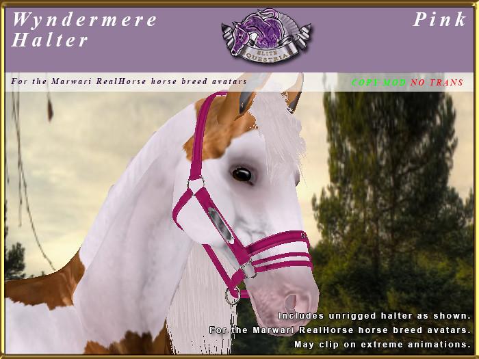 E-RH-Marwari-WyndermereHalter-Pink - TeleportHub.com Live!