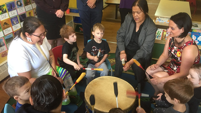 Indigenous programming at affordable child centres